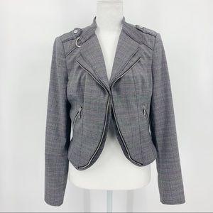White House Black Market Moto Jacket